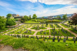Stirling Castle Old Town Cemetery Colour by Michal Dybowski